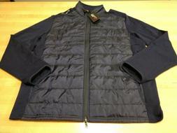 mens performance paneled stretch wool jacket size