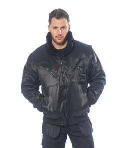 Mens Pilot Work Security Winter Jacket, 3in1 Aviator Style,