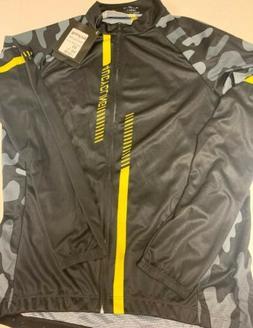4UCYCLING Men's Quick Dry Cycling Bike Jersey Jacket Black