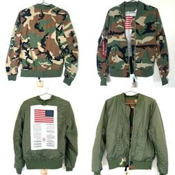 Alpha Industries Mens S L-2B Dragonfly Blood Chit Camo Rever