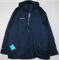Columbia Mens Size 3X Big Whirlibird Interchange Jacket 3-in