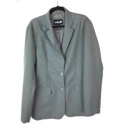 mens size large gray cotton jacket nwt