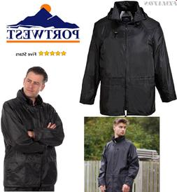 Mens US440BKRXL Regular Fit Classic Rain Jacket, Medium,Blac
