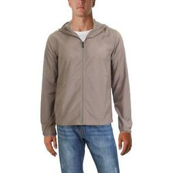 ExOfficio Mens Ventana Taupe Spring Insect Shield Jacket Out