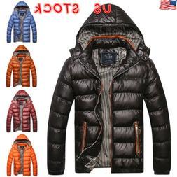 mens winter warm duck down jacket ski