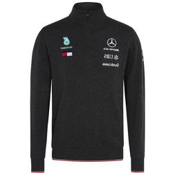 Mercedes Amg Petronas Tommy Hilfiger Grey Knitted Team Jumpe