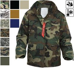 Military M-65 Field Jacket and Liner, Tactical M65 Coat Unif