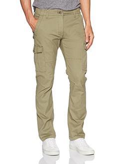 LEE Men's Modern Series Slim Cargo Pant, Olive Night, 34W x