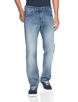 LEE Men's Modern Series Straight-Fit Jean, Anchor, 38W x 30L