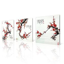 NAN Wind Small Size Traditional Chinese Painting of Plum Blo