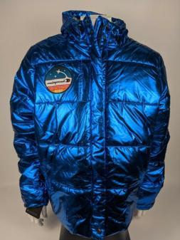 Champion NASA Metallic Puffer Space Quilted Jacket Metallic