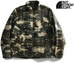 NEW $199 The North Face Men's ThermoBall Jacket CAMO waterpr