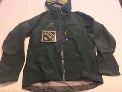 New Arcteryx  Alpha SV Jacket Men's Large Zevan Green Gore-T