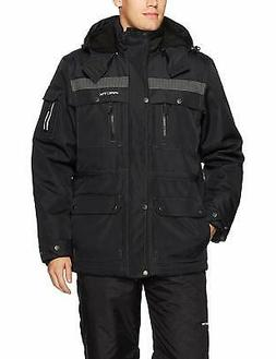 Arctix NEW Black Mens Size Big 4X Full Zip Hooded Tundra Uti