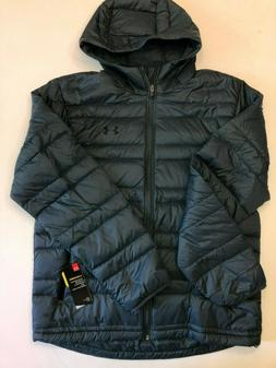 Under Armour New Down Hooded Jacket Men's Large 1342738 MSRP