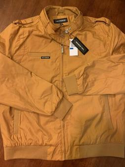 NEW Members Only Jacket Wheat Mens Size XL