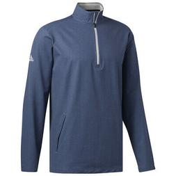 New Men's Adidas Adi Club Wind Jacket 1/4 Zip Golf Pullover