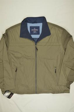 NEW MEN'S London Fog B&T Updated Packable Windbreaker Jacket