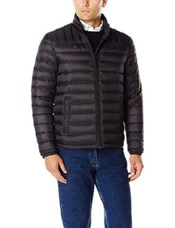 New Men's Tommy Hilfiger Black Down Lightweight Quilted Pack