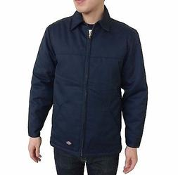 New Dickies Men's Black Navy Silver Two Tone Hip Length Twil