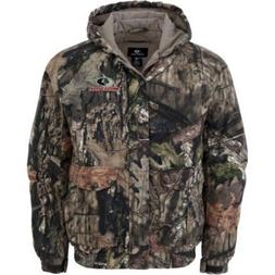 NEW! Men's Mossy Oak Camo Hunting  Bomber Jacket Coat   XL 2