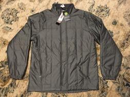 New ExOfficio Men's Cosimo Jacket Size Large Gray Carbon Thi
