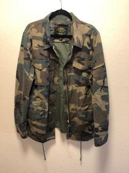 New Men's Alpha Industries Dragon Tour Field Coat Jacket Woo