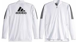 NEW ADIDAS MEN'S ESSENTIALS ID BOMBER TRICOT TRACK JACKET~ M