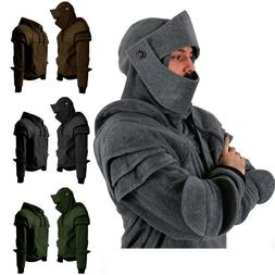 New Men's Fashion Medieval Duncan Armored Knight Hoodie Jack