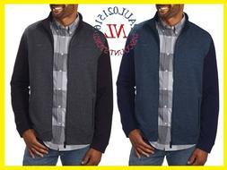 NEW Calvin Klein Men's Long Sleeve Full Zip Jacket ~ Cadet N