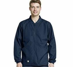 New Carhartt Men's Ripstop Zip Front Jacket in Navy in Sizes