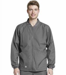 New Carhartt Men's Ripstop Zip Front Jacket in Gray in Sizes