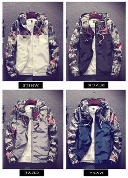 Men's Slim Collar Jackets Fashion Jacket Tops Casual Coat Ou