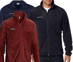 New Mens Columbia XLT, 3XLT Fleece Jacket Brown Granite Moun