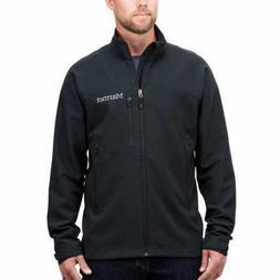 NEW!! Marmot Men's Black Softshell Full Zip Jacket Size Medi