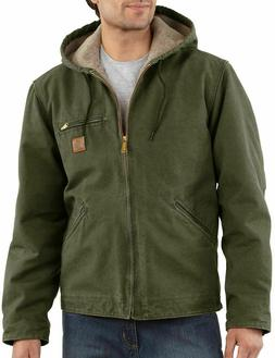 New Mens Carhartt Big And Tall Sherpa Lined Hooded Jacket.