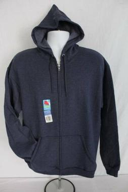 new mens hooded jacket xl full zip