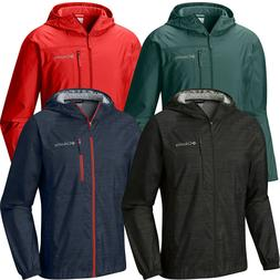 """New Mens Columbia """"Morning View"""" Packable Hooded Windbreaker"""