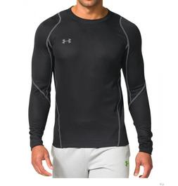New Mens Under Armour Muscle Infrared Athletic Gym Grid Crew
