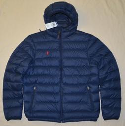 New M 2XL POLO RALPH LAUREN Men packable puffer down winter