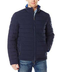 new mens quilted stretch reversible jacket coat