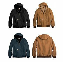 New Carhartt Mens Thermal Lined Duck Active Jacket Coat Wint