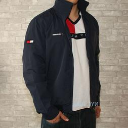 d20fcbbd New Tommy Hilfiger Mens Yacht Jacket Navy Windbreaker All Si