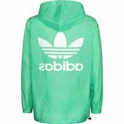 New Adidas Originals Poncho Windbreaker Jacket CE2472 Green