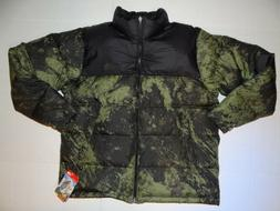 new THE NORTH FACE mens Nuptse goose Down Jacket XL Black In