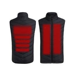 New Winter USB Heated Vest <font><b>Men</b></font> Vest Wais