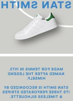 NIB Men's adidas Originals Stan Smith Sneakers M20324 White