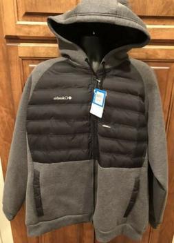 NWD Columbia Mens 2XL Northern Comfort II Black Gray Insulat