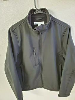 NWOT Amazon Essentials Men's Water-Resistant Softshell Jacke