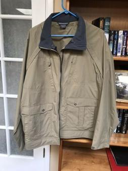 NWOT ExOfficio Men's Roundtrip Convertible Jacket - Walnut B
